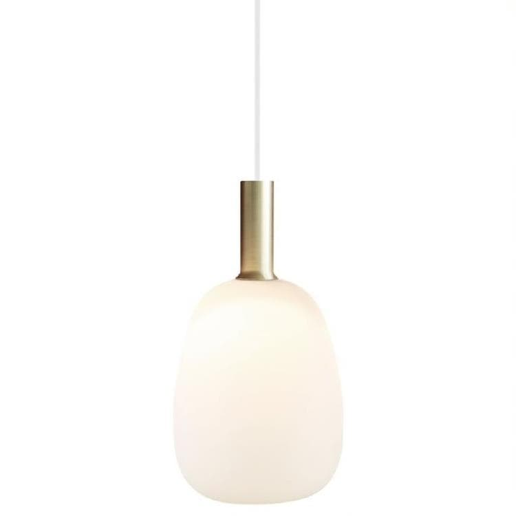 ALTON Blanc Suspension Métal/Verre Ø23cm