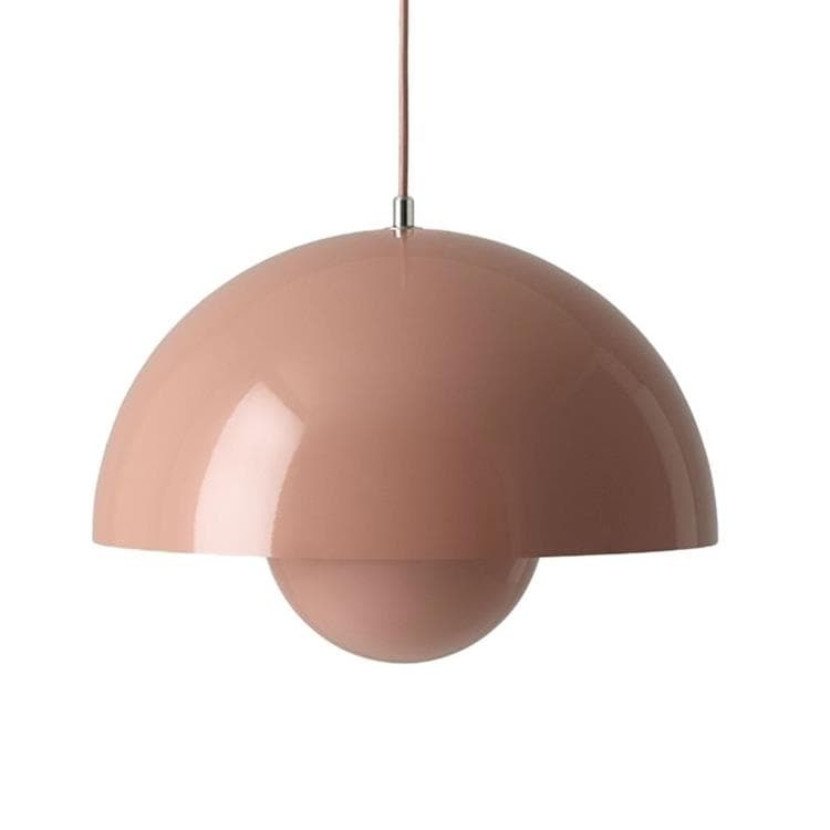 FLOWERPOT VP7 beige rouge Suspension Métal Ø37cm