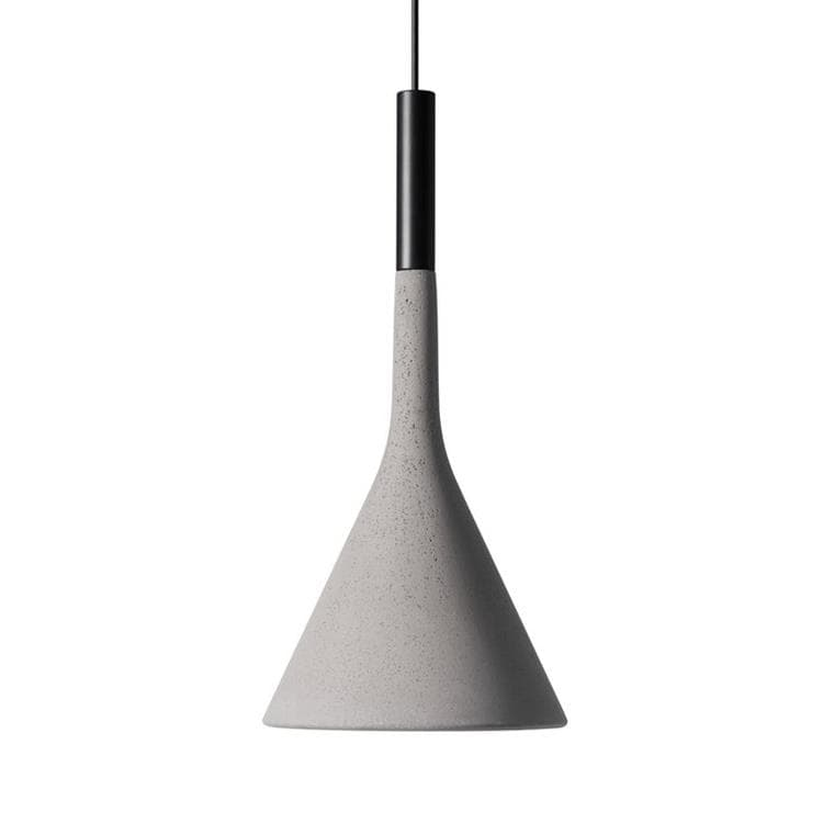 APLOMB OUTDOOR gris Suspension d'extérieur LED dimmable Béton Ø16,5cm