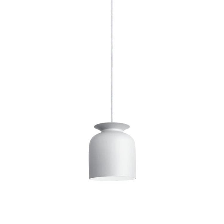 RONDE S Blanc Suspension Métal Ø20cm