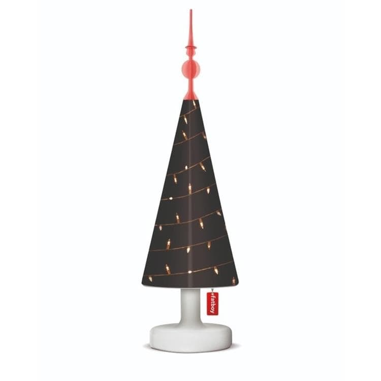 EDISON THE PETIT treetopper gluhline Lampe à poser LED rechargeable + Tree Topper Noël OFFERT H45cm