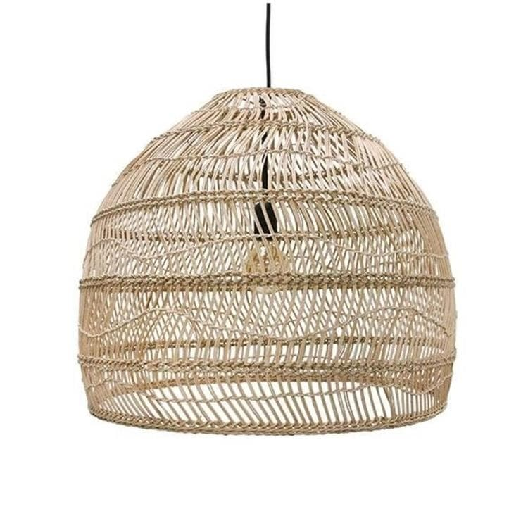 BALL NATURAL naturel Suspension Osier Ø60cm