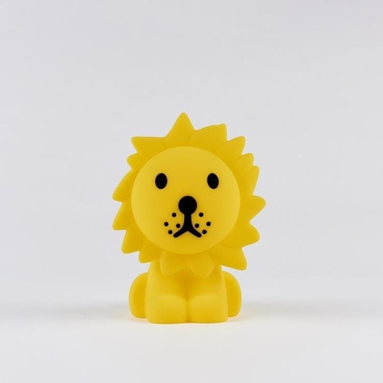 MY FIRST LIGHT Jaune Veilleuse LED rechargeable Lion H25cm