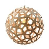 suspension David Trubridge CORAL - Suspension Bois Naturel Ø100cm