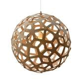 suspension David Trubridge CORAL - Suspension Bois Naturel Ø80cm