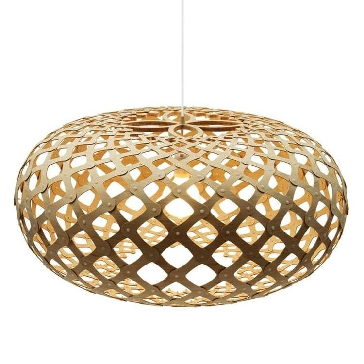 KINA bois naturel Suspension Bois Ø100cm