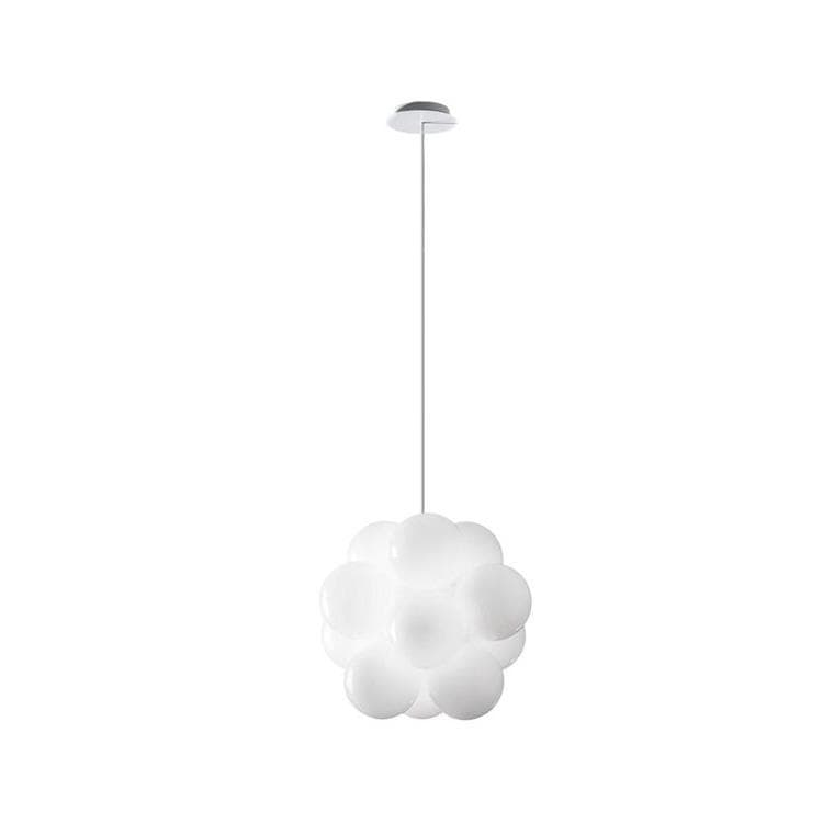 BABOL Blanc Suspension 12 Lumières Ø45cm