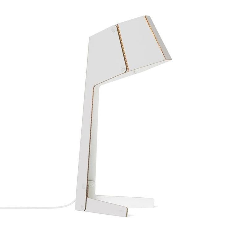 COMPLEATED Blanc Lampe à poser Carton H46cm