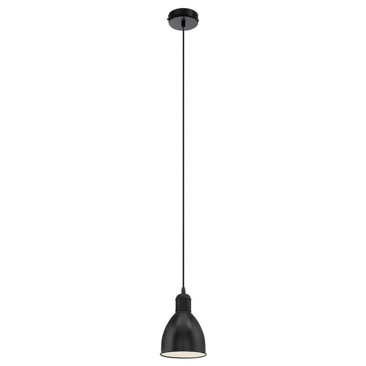 PRIDDY Noir Suspension Métal Ø15,5cm
