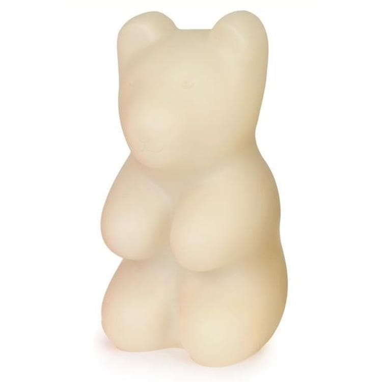 JELLY BEAR Blanc Lampe à poser / Veilleuse LED Ours H29cm
