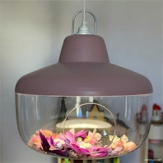 FAVORITE THINGS : Suspension Ø45cm (rose poudré)