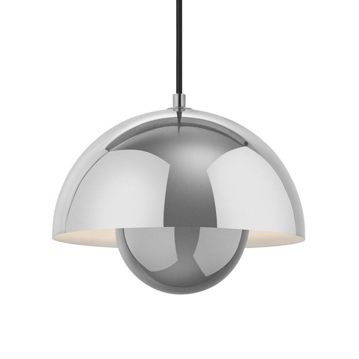 FLOWERPOT - Suspension Chrome Ø23cm & Tradition