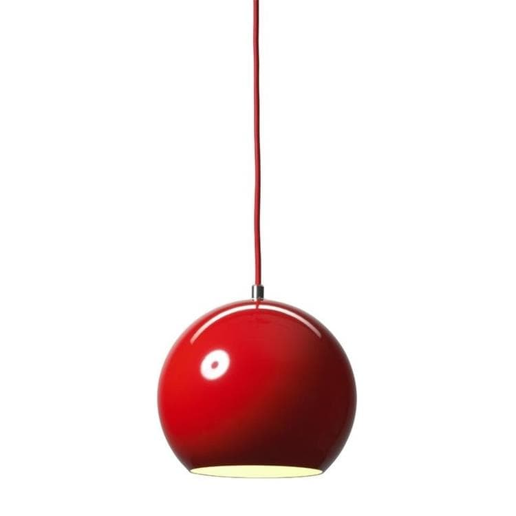 TOPAN - Suspension Rouge Ø21cm & Tradition