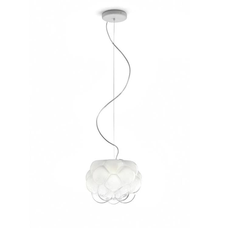 Gallery Of Cloudy Suspension Led Verre Cm With Plafonnier Led Salle De Bain