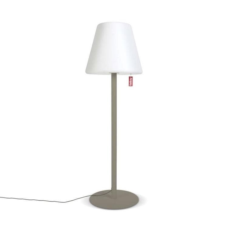 lampadaire d 39 ext rieur led blanc taupe h182cm edison the giant luminaire d 39 ext rieur fatboy. Black Bedroom Furniture Sets. Home Design Ideas