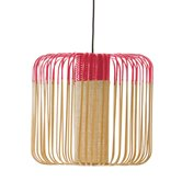 Suspension Forestier BAMBOO - Suspension Bambou/Rouge H40cm