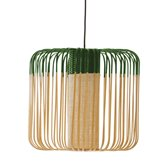 Suspension Forestier BAMBOO - Suspension Bambou/Vert H40cm