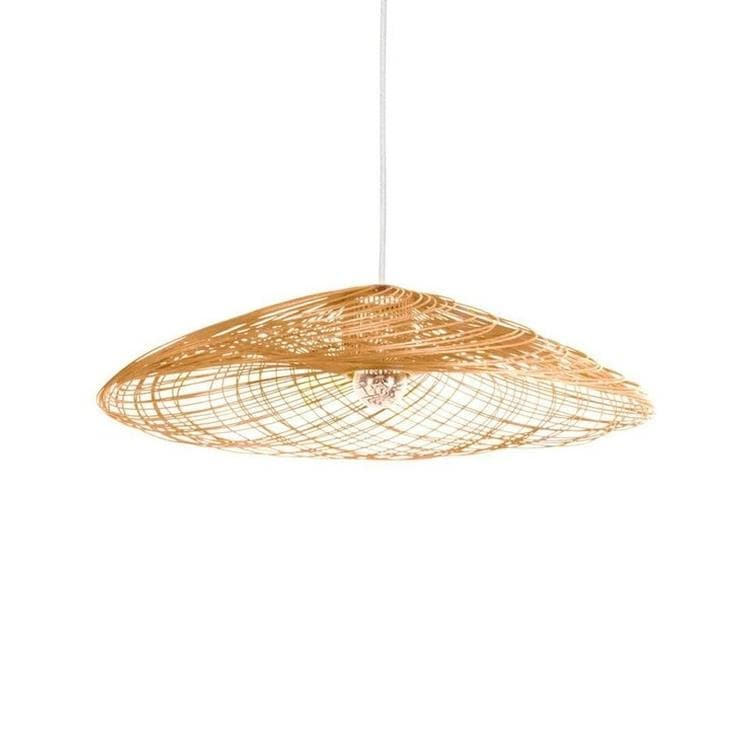 SATELISE - Suspension Rotin Naturel Ø55cm Forestier