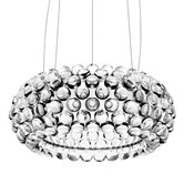 Suspension Foscarini CABOCHE - Suspension LED Clear Ø50cm
