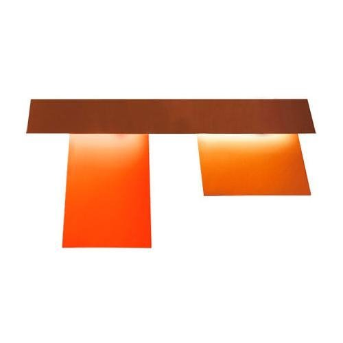 FIELDS Orange Applique Aluminium L95cm
