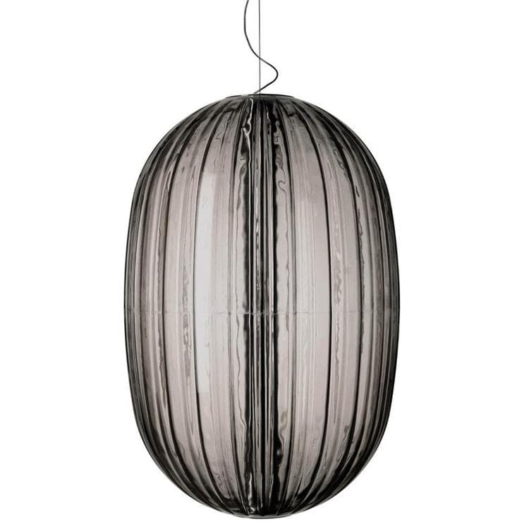 PLASS gris fumé Suspension Ø75cm