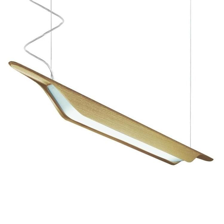 TROAG bois naturel Suspension Bois L215cm