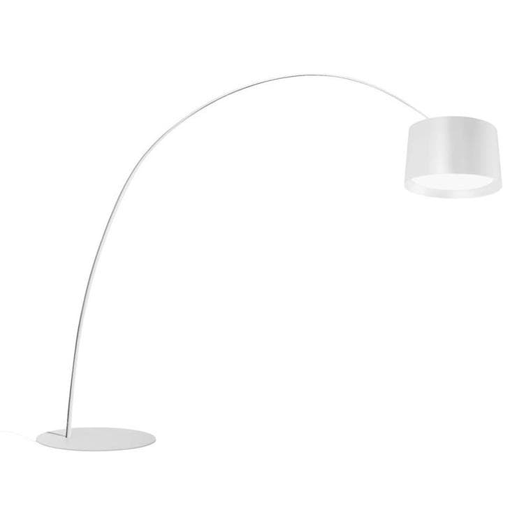 TWICE AS TWIGGY blanc laque Lampadaire Arc LED H320cm