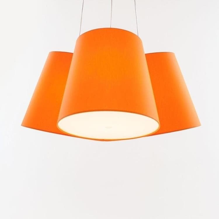 CLUSTER Orange Suspension 3 Abat-Jours Ø39cm