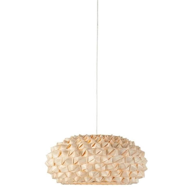 SAGANO bambou naturel Suspension Bambou Ø50cm