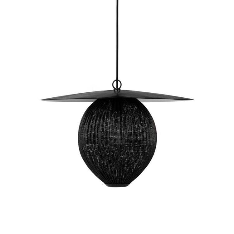SATELLITE Noir Suspension L45cm