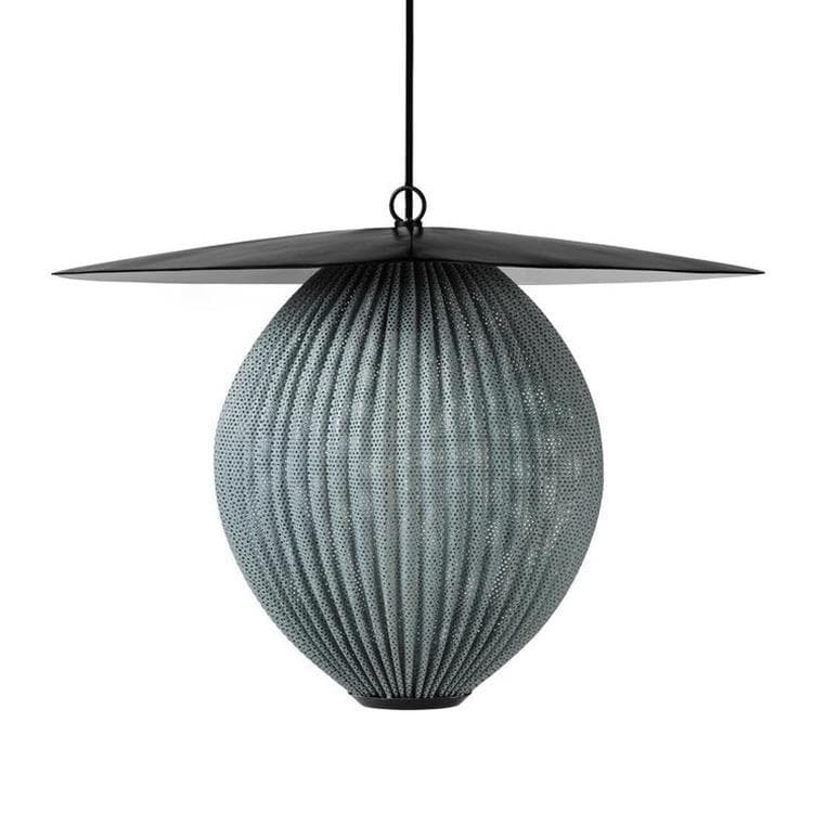 SATELLITE noir gris Suspension L57cm