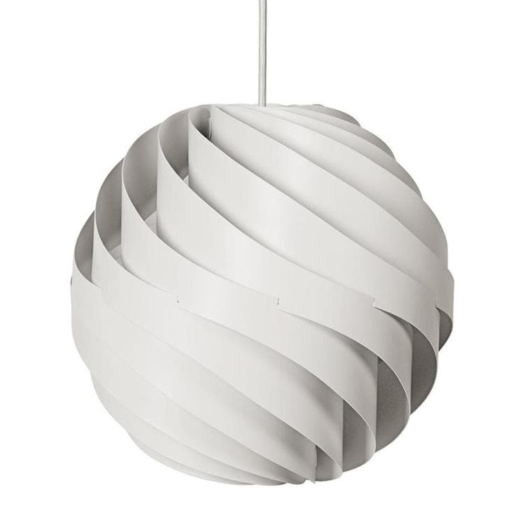 TURBO blanc mat câble blanc Suspension Ø62cm