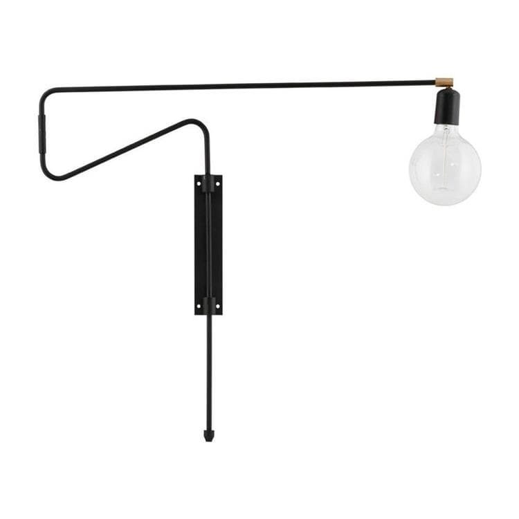 SWING Noir Applique murale orientable L70cm