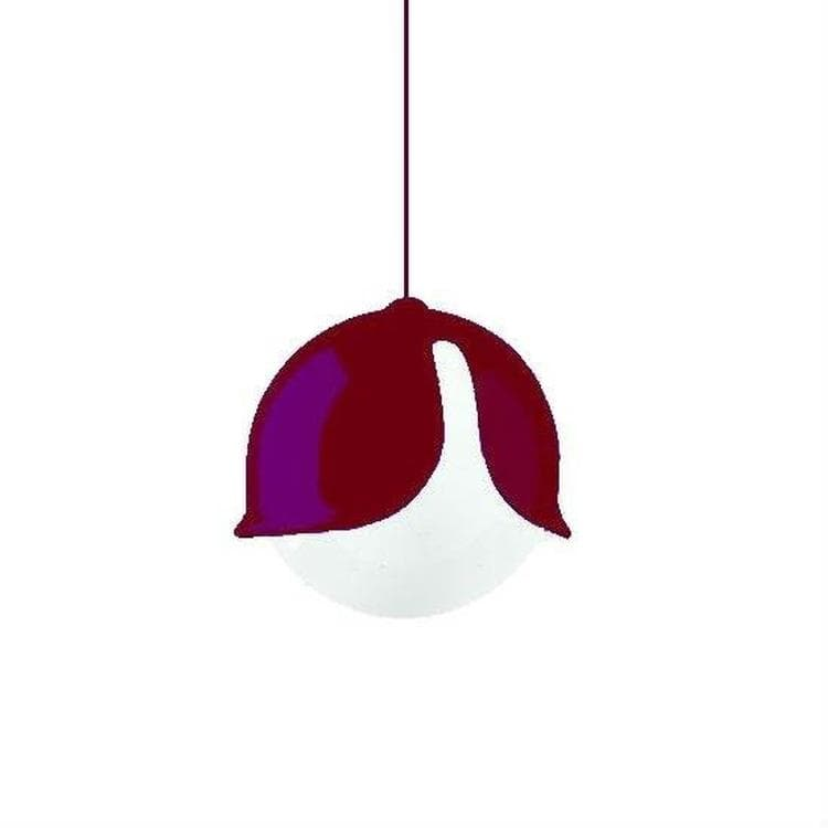 SNOWDROP Violet Suspension Ø24cm