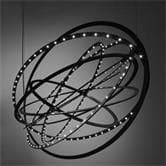 Suspension Artemide COPERNICO - Suspension LED Noir L104cm