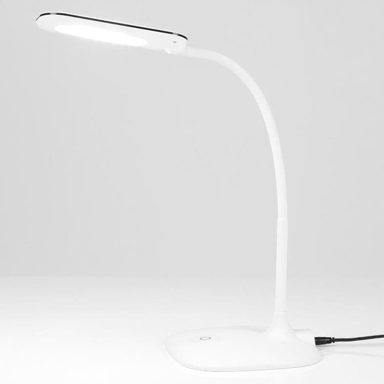 mei lampe de bureau led tactile 3 intensit s h55cm blanc inspire 24 90. Black Bedroom Furniture Sets. Home Design Ideas