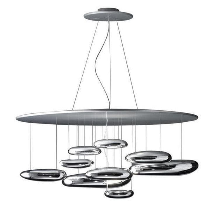 MERCURY - Suspension Halogène Chrome Ø110cm Artemide