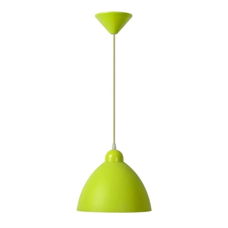 COCO Vert Suspension Coupole Polypropylène Ø22cm