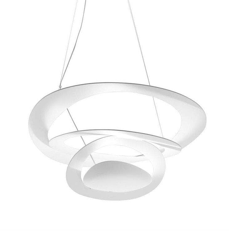 PIRCE MINI Blanc Suspension Ø69cm