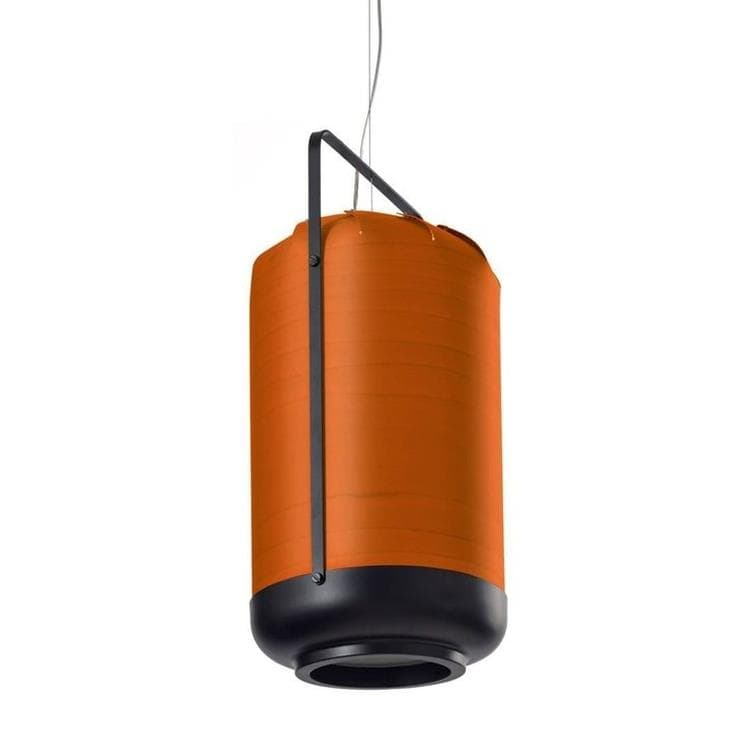 CHOU Orange Suspension Bois/Métal H61cm