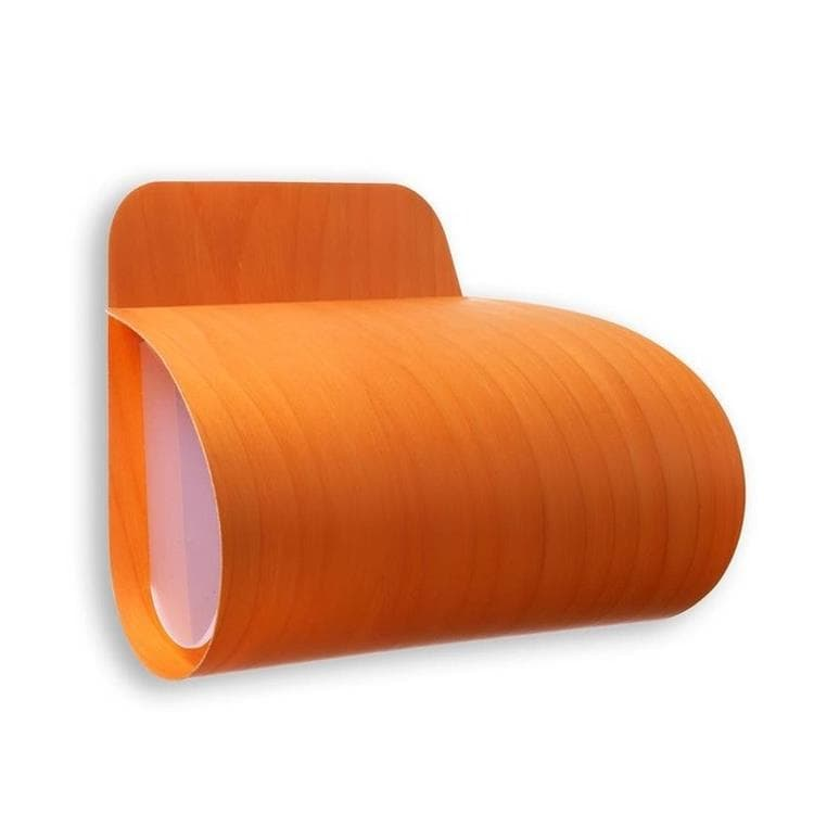 PLEG Orange Applique murale Bois L26,5cm